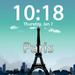 Clockscapes Paris - Animated Clock Display